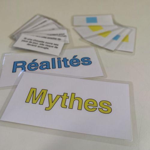 Jeu Mythes & Réalités autour de la chouette